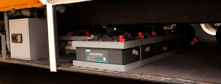 Техника безопасности при работе с тяговыми аккумуляторами